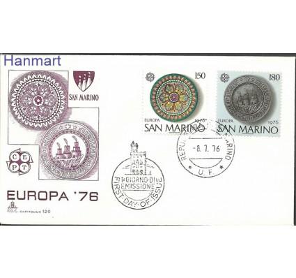 Znaczek San Marino 1976 Mi 1119-1120 FDC