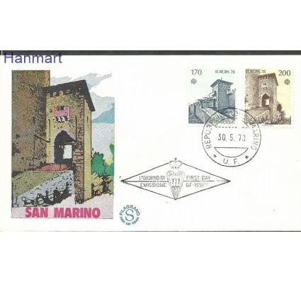 Znaczek San Marino 1978 Mi 1156-1157 FDC