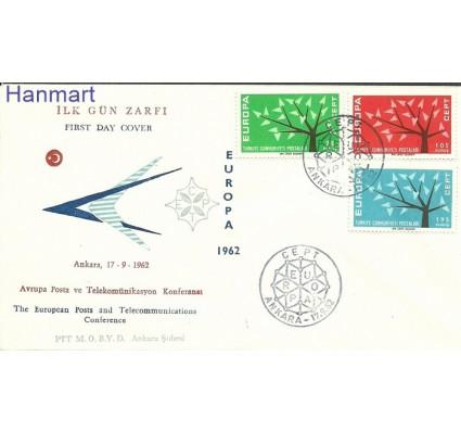 Znaczek Turcja 1962 Mi 1843-1845 FDC