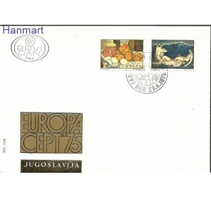 Znaczek Jugosławia 1975 Mi 1598-1599 FDC