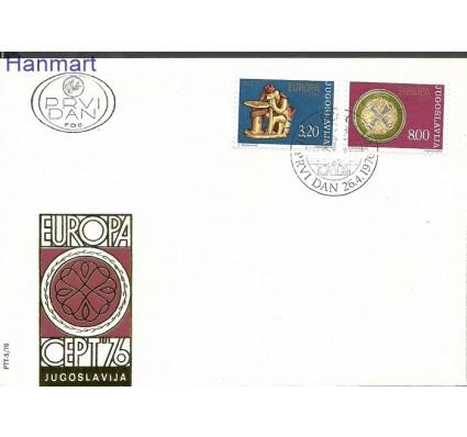 Znaczek Jugosławia 1976 Mi 1635-1636 FDC