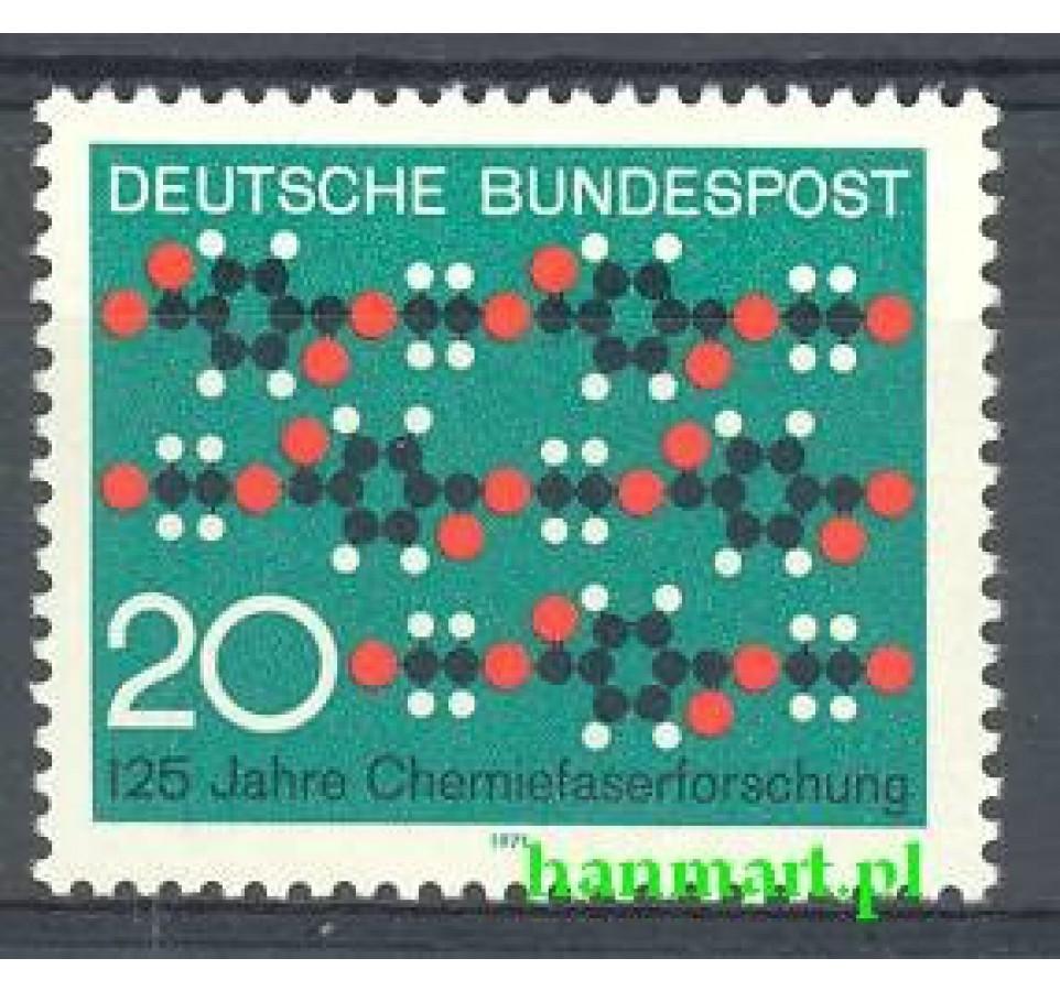 Niemcy 1971 Mi 664 Czyste **