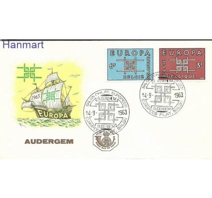 Znaczek Belgia 1963 Mi 1320-1321 FDC