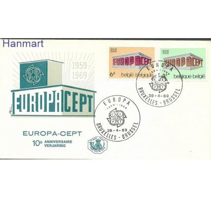 Znaczek Belgia 1969 Mi 1546-1547 FDC