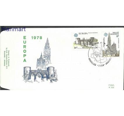 Znaczek Belgia 1978 Mi 1943-1944 FDC