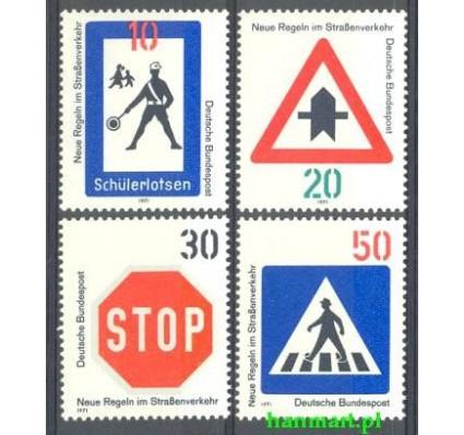 Niemcy 1971 Mi 665-668 Czyste **