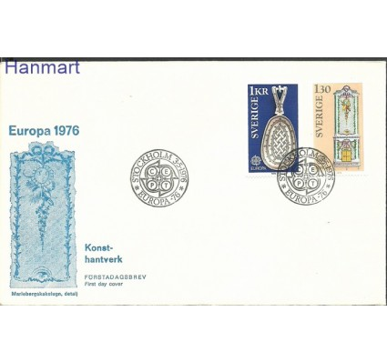 Szwecja 1976 Mi 943-944 FDC