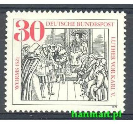 Niemcy 1971 Mi 669 Czyste **