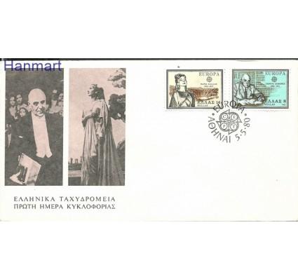 Znaczek Grecja 1980 Mi 1411-1412 FDC