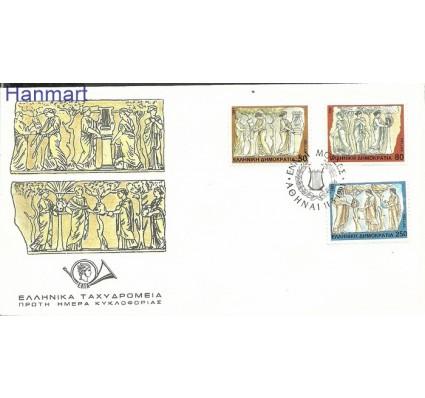 Grecja 1991 Mi 1774-1776 FDC