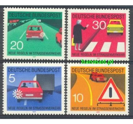 Niemcy 1971 Mi 670-673 Czyste **
