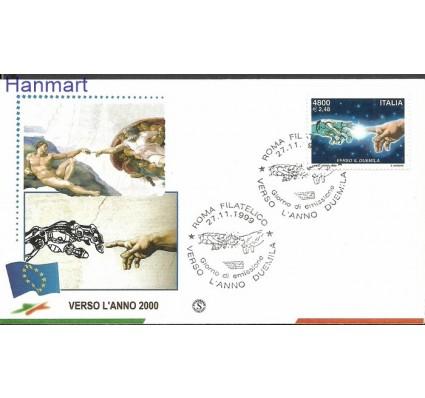 Znaczek Włochy 1999 Mi 2666 FDC