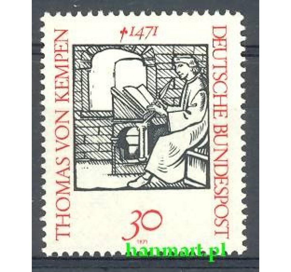 Niemcy 1971 Mi 674 Czyste **