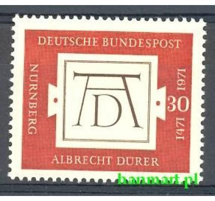 Niemcy 1971 Mi 677 Czyste **
