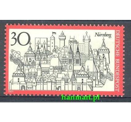 Niemcy 1971 Mi 678 Czyste **
