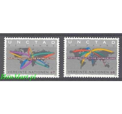 Narody Zjednoczone Wiedeń 1994 Mi 176-177 Czyste **