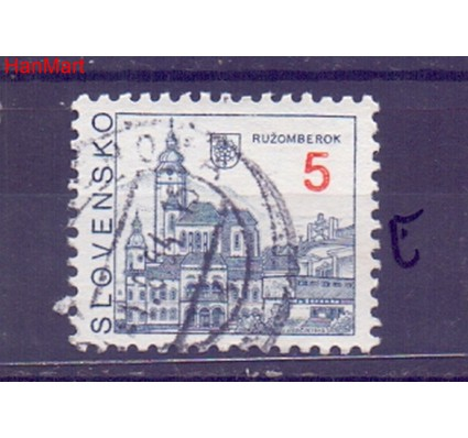 Słowacja 1993 Mi mpl164e Stemplowane