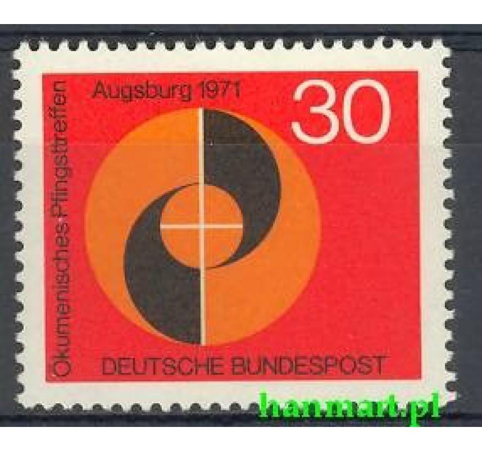 Niemcy 1971 Mi 679 Czyste **