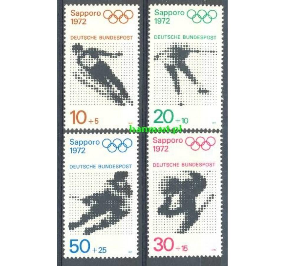 Niemcy 1971 Mi 680-683 Czyste **