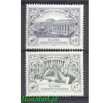 Narody Zjednoczone Wiedeń 1995 Mi 186-187 Czyste **