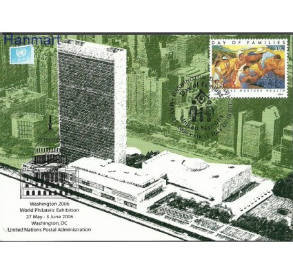 Narody Zjednoczone Nowy Jork 2006 Mi 1020 Karta Max