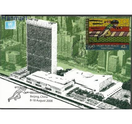 Znaczek Narody Zjednoczone Nowy Jork 2008 Mi 1099 Karta Max