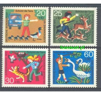 Niemcy 1972 Mi 711-714 Czyste **