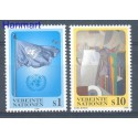 Narody Zjednoczone Wiedeń 1996 Mi 203-204 Czyste **