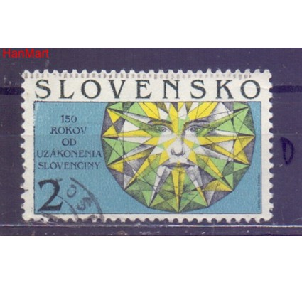 Słowacja 1993 Mi mpl176d Stemplowane