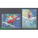 Narody Zjednoczone Wiedeń 1996 Mi 214-215 Czyste **