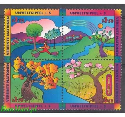 Narody Zjednoczone Wiedeń 1997 Mi 226-229 Czyste **