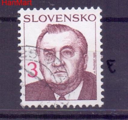 Słowacja 1993 Mi mpl180e Stemplowane