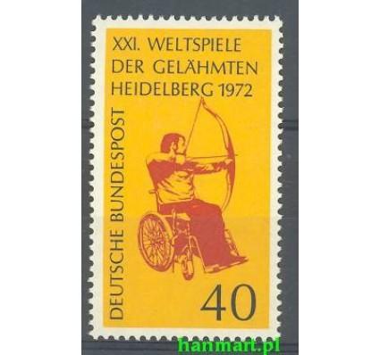 Niemcy 1972 Mi 733 Czyste **