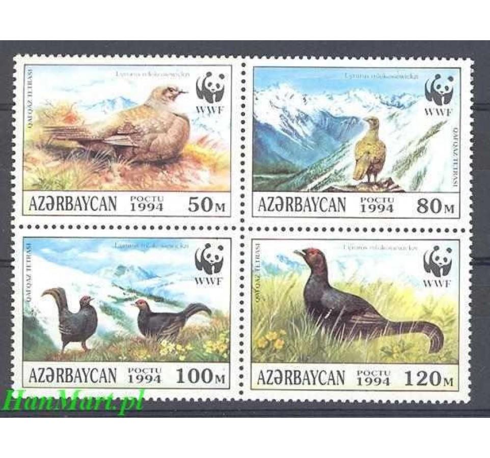 Azerbejdżan 1994 Mi 161-164 Czyste **