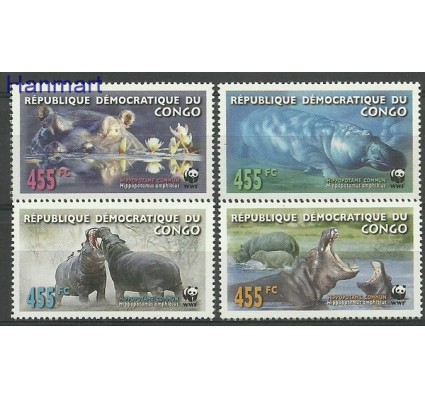 Znaczek Kongo Kinszasa / Zair 2006 Mi 1901-1904 Czyste **