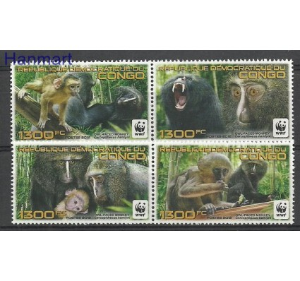 Znaczek Kongo Kinszasa / Zair 2012 Mi par2132-2135 Czyste **