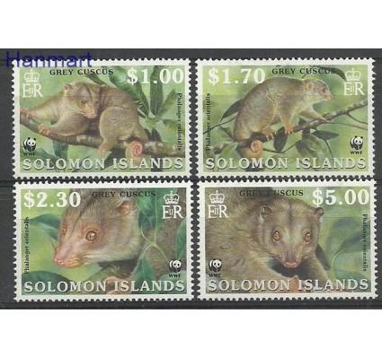 Znaczek Wyspy Salomona 2002 Mi 1062-1065 Czyste **