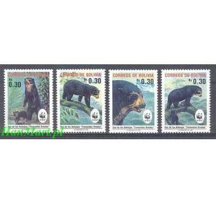 Znaczek Boliwia 1991 Mi 1137-1140 Czyste **