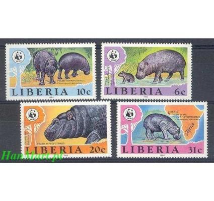 Znaczek Liberia 1984 Mi 1315-1318 Czyste **