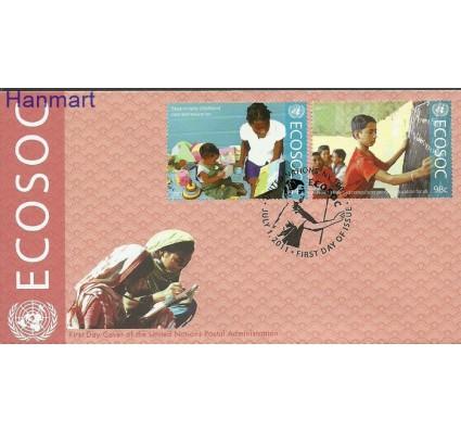 Znaczek Narody Zjednoczone Nowy Jork 2011 Mi 1275-1276 FDC