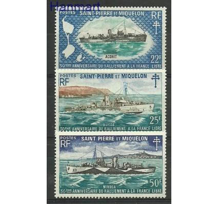 Saint-Pierre i Miquelon 1971 Mi 471-473 Czyste **