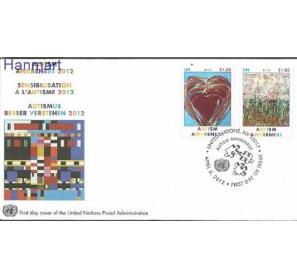 Znaczek Narody Zjednoczone Nowy Jork 2012 Mi 1302-1303 FDC