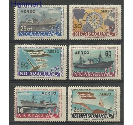 Znaczek Nikaragua 1957 Mi 1169-1174 Czyste **