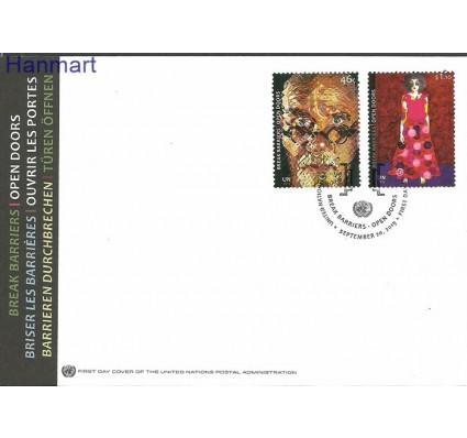 Narody Zjednoczone Nowy Jork 2013 Mi 1373-1374 FDC