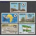 Kenia 1981 Mi 187-191 Czyste **