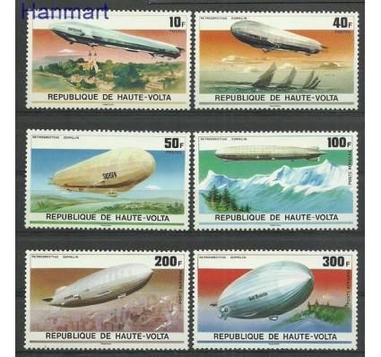 Burkina Faso 1976 Mi 625-630 Czyste **