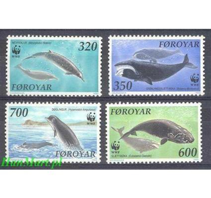 Wyspy Owcze 1990 Mi 203-206 Czyste **