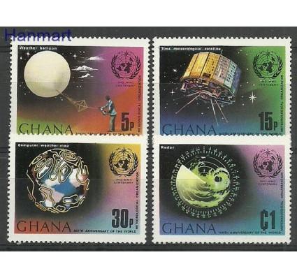 Ghana 1973 Mi 520-523 Czyste **