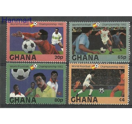Ghana 1982 Mi 945-948 Czyste **