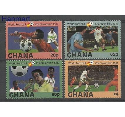 Znaczek Ghana 1983 Mi 968-971 Czyste **